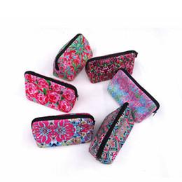 Цветочные косметические пакеты онлайн-Женская косметическая сумка с цветочным принтом Lady Travel Цветочная печатная сумка для макияжа Женская дорожная сумка для путешествий RRA1165