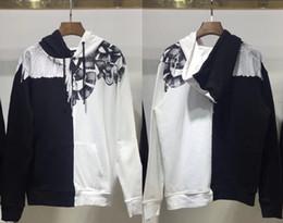 2019 camisolas de pescoço de qualidade 19ss Marcelo Burlon Hoodies Das Mulheres Dos Homens Streetwear Tripulação Pescoço de Algodão de Alta Qualidade Marcelo Burlon Moletom Com Capuz Skates MB Moletom Com Capuz camisolas de pescoço de qualidade barato