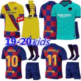 fato de treino ibrahimovic Desconto 19 20 Barcelona Messi jerseys Camisolas de Futebol SUAREZ MALCOM maillot de foot Camisolas Barcelona PIQUE Vidal Dembele MULHERES MAN 2019 2020