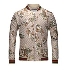 couple chaud Promotion Veste De Luxe Nouvelle Marque De Mode Marque Veste Manteau Pour Homme Designer Avec Motifs Floraux Printemps Antumn Vestes Tops Vêtements de Haute Qualité