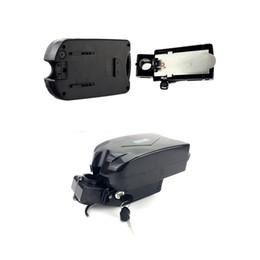 2019 bateria bicicleta elétrica rã Frete grátis Sapo pequeno 48 V 17ah 750 W 1000 W ebike bateria assento de montagem bicicleta elétrica bateria de lítio com 54.6 v 3A carregador bateria bicicleta elétrica rã barato