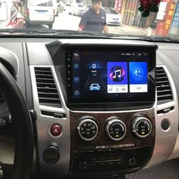Süper İnce Dokunmatik Ekran Android 8.1 radyo GPS Navigasyon Mitsubishi Pajero Spor tabletler için Stereo Multimedya Bluetooth araba dvd cheap sports dvd nereden spor dvd tedarikçiler