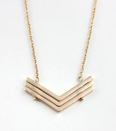 Collar de mujer bonita online-Envío gratis geométrico simple popular collar colgante, elegante moda elegante moda dulce colgante collar para mujeres