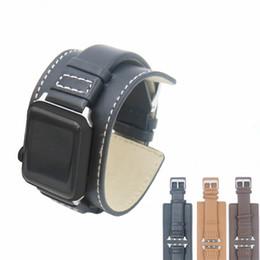 elenca le mele Sconti 2019 Nuovo elenco di alta qualità 20mm cinturino in pelle di tipo polso per cinturino in pelle di vacchetta orologio cinturino in pelle con accessori