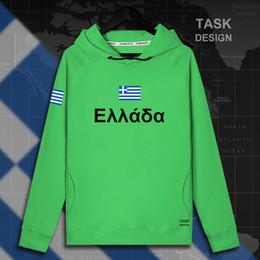 2019 vêtements grecs Grèce grec GRC GR mens pull à capuche pulls à capuche hommes sweat-shirt neuf streetwear vêtements Vêtements de sport survêtement drapeau nation neuve vêtements grecs pas cher