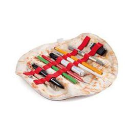 Canada Imitation Burrito Trousse À Rouleaux Tortilla Stylo Sacs Cuit au four sac de stockage de gâteau de blé supplier food pens Offre