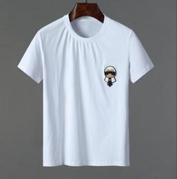 d5adb6412c6 206K marque de luxe Designer Tiger Imprimé Distressed T-Shirt design  Imprimer Coton Casual hommes à manches courtes g T-shirts Slim avec des  étiquettes