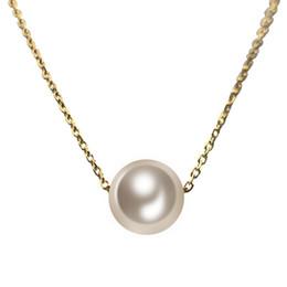 Pendentif mère nouvelle arrivée en Ligne-2019 gros nouvelle arrivée mère de perle pendentif en acier inoxydable colliers meilleur cadeau pour les femmes Colliers Pendentifs