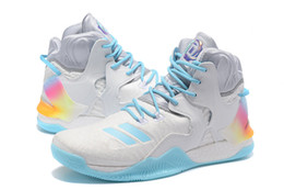 013548055372 derrick rose blue Coupons - Hot Seller D Rose Casual Shoes Men Boots 7 VII  Blue