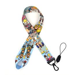 caja del teléfono para bb Rebajas 30pcs / lot Eavis y Butt-head cuerda de seguridad acuarela impresión cintas de teléfono Caso BB correa de cuello para los titulares de llaves Badge Llavero A207