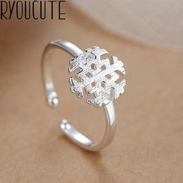 богемское кольцо 925 Скидка Чешский панк настоящее стерлингового серебра 925 снежные кольца для женщин заявление ювелирные изделия большой палец обручальное кольцо подарок партии