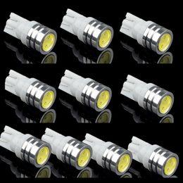 feux led 12v en marche arrière Promotion 10pcs T10 192 168 194 Ampoules LED Canbus OBC Erreur Libre LED Sauvegarde Ampoules De Recul De Voiture lampe inverse Xenon Blanc Auto Fog Lamps