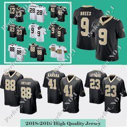 41 Alvin Kamara Jersey Orleans 9 Drew Brees Saints 23 Marshon Lattimore  Mens New 88 Dez Bryant 13 Thomas 28 Peterson Limited jerseys e92f28f66