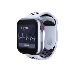 puls iphone Rabatt Herzfrequenz Z6S Smartwatch für Iphone Smart Watch Bluetooth Puls-Tracker Unterstützt SIM TF-Karte für Android Smart Phone Z6 Upgree