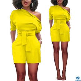 2020 плюс размер сексуальный комбинезон Plus Size Women Lady Party Bodycon Romper Sexy Lady Pure Color Jumpsuit New 2018 Short Sleeve Club Jumpsuit Short Pants Trousers дешево плюс размер сексуальный комбинезон