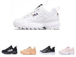 Argentina Venta al por mayor de Disruptores II 2 zapatos Mujeres hombres scarpe blanco negro gris rosado dama zapatos casual zapatillas deportivas Jogging zapatillas 36-44 cheap ladies pink running shoes Suministro