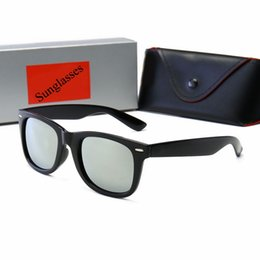 2019 gafas aviador para hombre 2019 Aviator Sunglasses Vintage Pilot Brand UV400 Protection Hombres Mujeres Hombres Mujeres Ben Wayfarer Polarized Sun Glasses With Box Case gafas aviador para hombre baratos