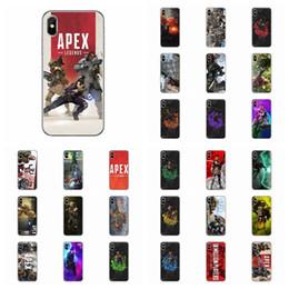 2019 telefone impresso 3d Apex lendas phone case 30 estilos 3d imprimir tpu tampa traseira para o iphone galaxy outros casos de telefone acessórios de moda aaa1858 telefone impresso 3d barato