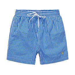 2019 ropa de moda de chándales Venta caliente Diseñador Moda para hombre Polo Playa Pantalones para hombre Traje de baño Surf Pantalones cortos de Nylon chándal jogger Pantalones Ropa de baño Boardshorts ropa de moda de chándales baratos