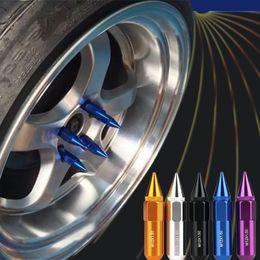 Lug nuts spikes online-Freeshipping 20pcs M12 * 1.5 versetztes Aluminium-ausgedehntes Auto-Rad-Radmuttern-Hochfestigkeits-Härte