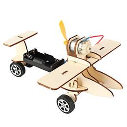 Puzzle di corsa online-Bambini Bambini Fai da te Elettrico Auto da corsa in legno Puzzle assemblato Esperimento scientifico Ragazzi educativi Giocattolo per apprendimento precoce