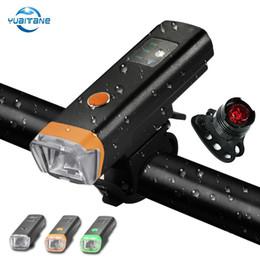 Bisiklet Işık Süper Parlak Far Arka Lamba Seti Bisiklet USB Şarj Edilebilir Dahili 2000 mAh LED Ön Lamba Bisiklet Uyarı Işıkları nereden