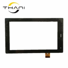 Цена сенсорной панели онлайн-Thani Best Price 7 Inch Black For Explay N1 Touch Screen fm700405kd Panel Digitizer Glass Sensor Replacement Parts