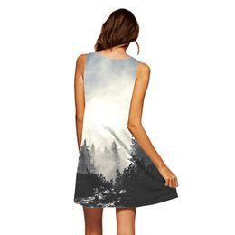 ea8ea1ffd1 Hermosos vestidos cortos sexy online-Vestido de verano mujeres sexy  elegante mujer vintage boho verano