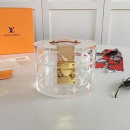 mache perlen armbänder männer Rabatt Echtes Leder der neuen Art und Weiseluxus-Entwerfertasche, das Entwerfer-transparente Kasten-Supermode-Druckluxus-PVC-Tasche GI0203 der großen Kapazität bildet