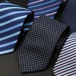 Seguridad de búsqueda online-Negocio vestido para hombres Perezoso Lazo Escalera fácil Cremallera administrativa para hombres Raya de trabajo Búsqueda de empleo Corbata de seguridad