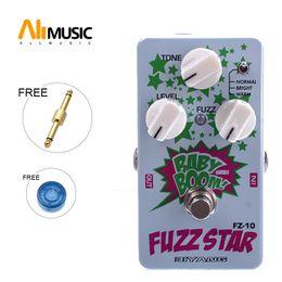 Effets de distorsion de guitare en Ligne-Biyang Baby Boom FZ10 Pédale Basse Guitare Fuzz Star Distortion Livraison gratuite