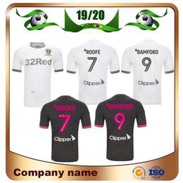 Spieler weißer fußball online-19/20 Player Version Leeds United Fußball Jerseys 2020 Startseite weiß Roofe BAMFORD Alioski JANSSON Fußball-Hemd ROBERTS HUFFER Fußball-Uniform