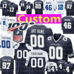 Jersey troy online-Costumbre Dallas Cowboys Jersey 8 Troy Aikma 72 Travis Frederick Allen Hurns 17 12 Roger Staubach 77 Smith fútbol jerseys