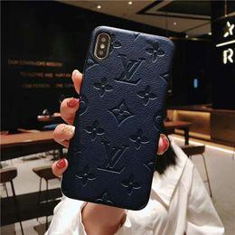 Designer iphone en Ligne-Une pièce modèle d'impression CASES pour iphone xs maxe iphone xr étui de luxe courbe couverture modèles designer housse de téléphone pour iphone x 6 7 8plus