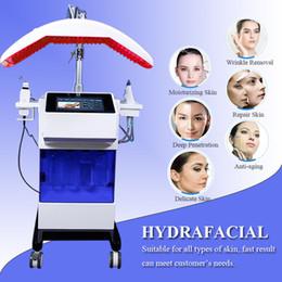 2019 máquina de microcorriente usada Máquina depuradora de la piel por ultrasonidos BIO Face Lift Facial Skin Limpiar con vacío Aspiradora Máquina de oxígeno Microcurrent Máquinas de uso doméstico rebajas máquina de microcorriente usada