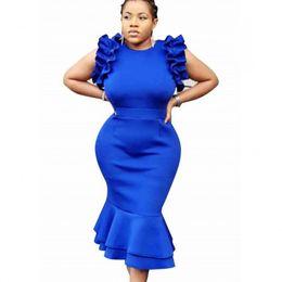 bd6b882eb3d8 Abiti africani per le donne 2019 New African Elastic Bazin pantaloni larghi  Rock Style Dashiki Sleeve Dress per Lady Africa Abbigliamento nuovi vestiti  in ...