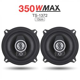 frequency car audio Coupons - 2Pcs 5 Inch 350W Car Coaxial Speakers Auto Audio Music Stereo Full Range Frequency Hifi Speakers Non-destructive Installation
