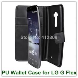2019 caixa da carteira lg g New pu leather folio business bag de volta da pele inteligente capa case para lg g flex d958 com fecho magnético frete grátis desconto caixa da carteira lg g