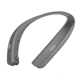 Argentina HBS W120 Auriculares inalámbricos Bluetooth de calidad superior CSR 4.1 Banda para el cuello Auriculares deportivos Auriculares con altavoces de micrófono Nueva llegada para LG TONE cheap neckband headset iphone Suministro