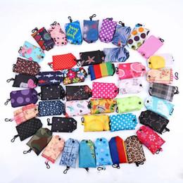 Canada Les sacs à provisions pratiques pliables en nylon avec la poche d'emballage réutilisable de crochet réutilisent des sacs se pliants écologiques de grande capacité de stockage pour des dames Offre