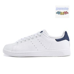 appartamenti a buon mercato Sconti stan smith 2019 Cheap smith Stan uomo scarpe da donna stan shoes smith con balck bianco Verde rosa rosso tutto nero New Stan casual Flats shoes Size 36-45