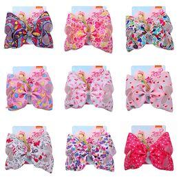 Cabelo acessórios bebê meninas china on-line-JOJO SIWA Barrette Do Cabelo Do Coração 8 '' Grande Arco de Cabelo para Bebé Menina Crianças Kid Designer de Grampo de Cabelo Headwear Hairpin Acessórios Moda Hairclip