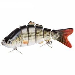 3d fishing lure eyes Promo Codes - Fishing Lure 10cm 20g 3D Eyes 6-Segment Lifelike Fishing Hard Lure Crankbait With 2 Hook Fishing Baits Pesca Cebo