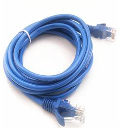 2019 connecteurs de câbles lan Ecosin2 Câbles Informatiques Connecteurs 1.6M Câble Ethernet Ethernet LAN LAN CAT5e Bleu pour Routeur Modem Ordinateur Oct16 connecteurs de câbles lan pas cher