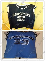 9ac5555a2f70 Cheap custom Vintage Patrick Ewing  33 Georgetown Hoyas College Jersey 1982  Stitched Customize any number name MEN WOMEN YOUTH XS-5XL