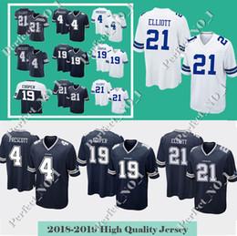 05149518c97 cooper jerseys Promo Codes - Dallas Cowboys Jersey 21 Ezekiel Elliott 4 Dak  Prescott 19 Amari
