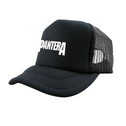 New Winter Active Novelty Cotton Knit Printed Pantera Punk Rock Band Cool  Mens Sun Hats And Snapback Caps Sport Summer f52558a7c4aa