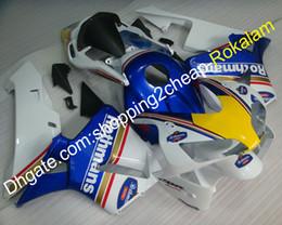 Argentina Cubierta del cuerpo de la motocicleta para Honda Fit CBR600RR F5 2003 2004 CBR600 CBR 600 RR 600RR 03 04 Juego de carenado Rothmans BodyWork (moldeo por inyección) Suministro