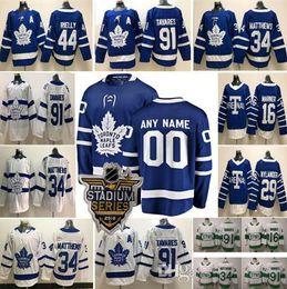Kadri jersey online-Custom Men Women Kids Toronto Maple Leafs Doug Gilmour Andersen 43 Nazem Kadri 16 Mitchell Marner William Nylander 44 camisetas Morgan Rielly