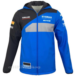 2019 motocross-sweatshirt Neue Ankunft für Yamaha Motocross-Sweatshirts Outdoor-Sport Softshell Jacke Motorrad-Rennsport mit Reißverschluss trägt warme A Halt günstig motocross-sweatshirt
